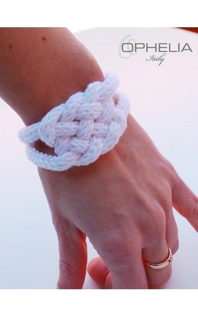 Bracciale celtico in cotone