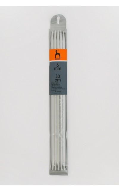 Ferri doppia punta  6 mm 30cm