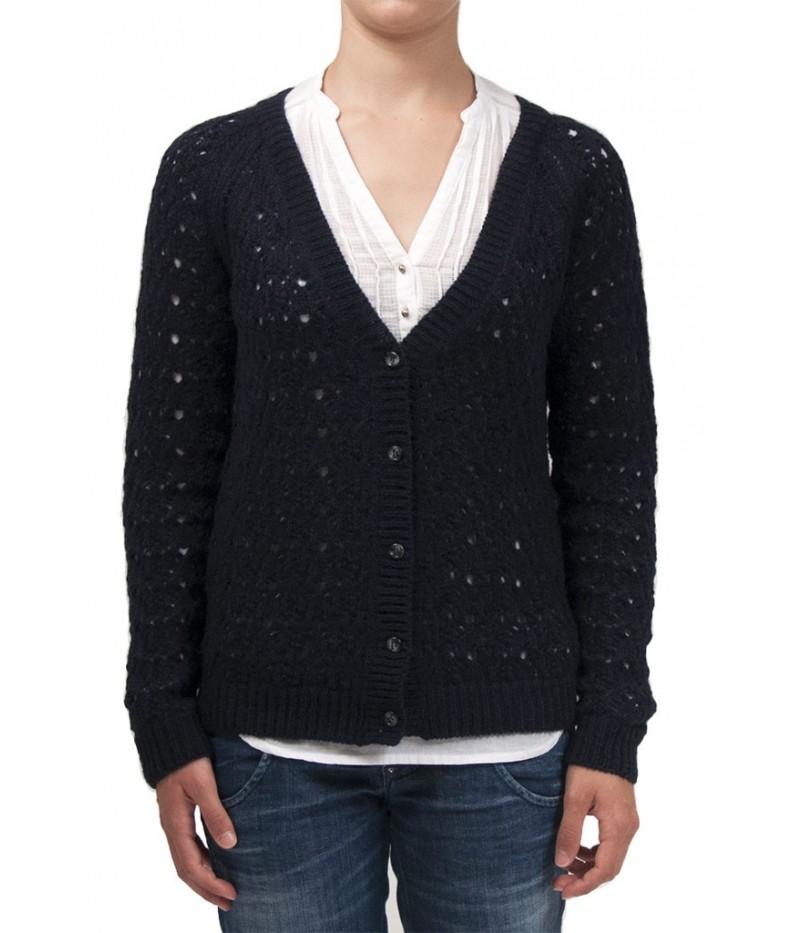 Cardigan crochet  30% lana merino