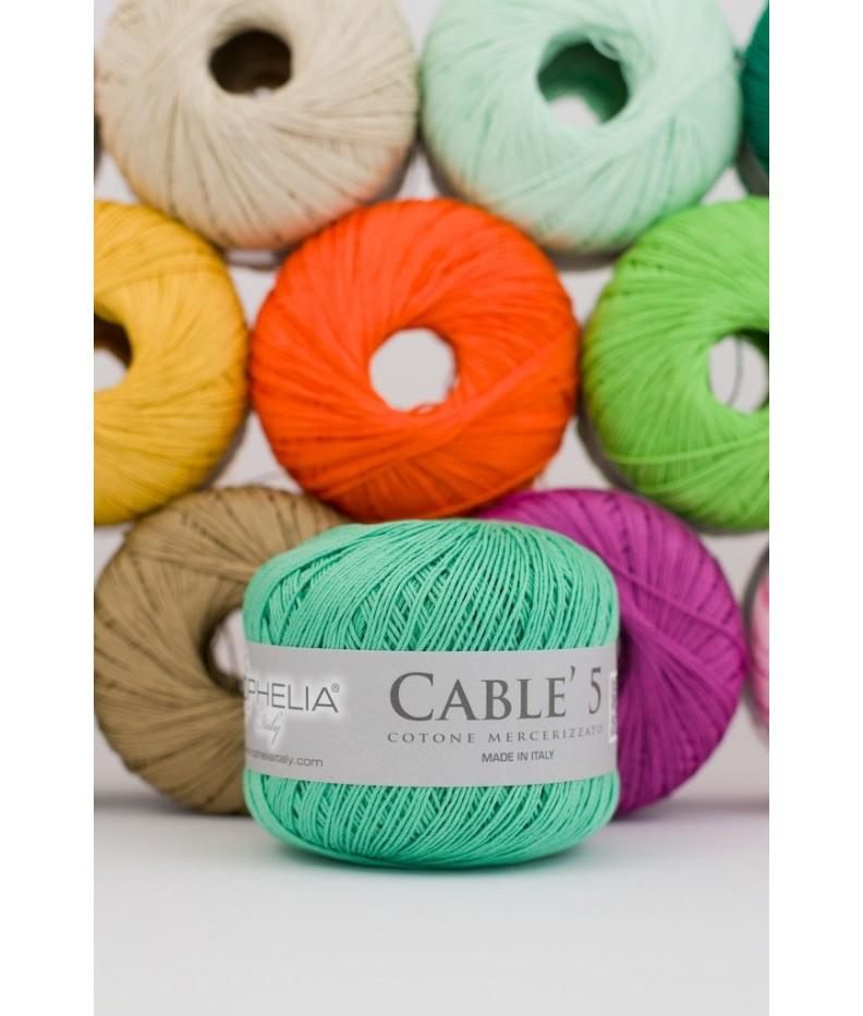Cablè 5 Merzerisierte Baumwolle