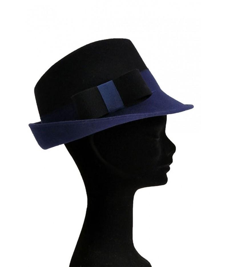 Felt trilby hat