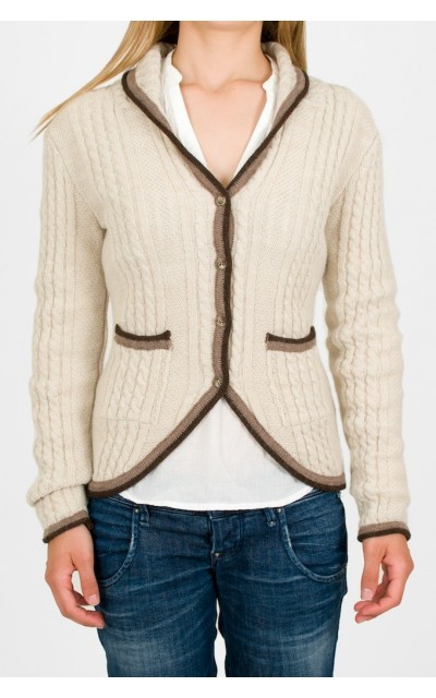 Cardigan London wool alpaca