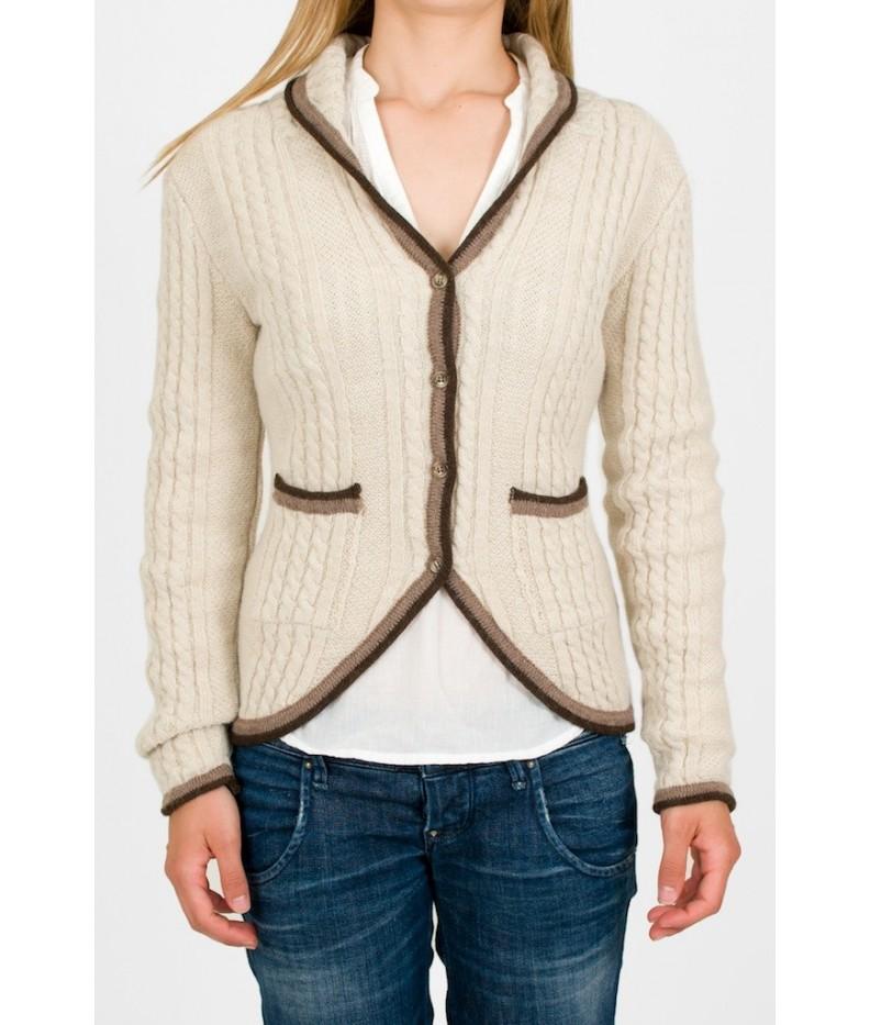 Cardigan London wool alpaca