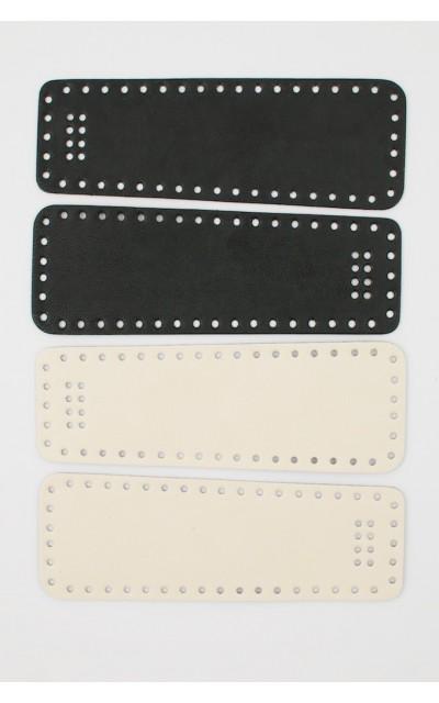 Rückenteil für trapezförmige Taschen