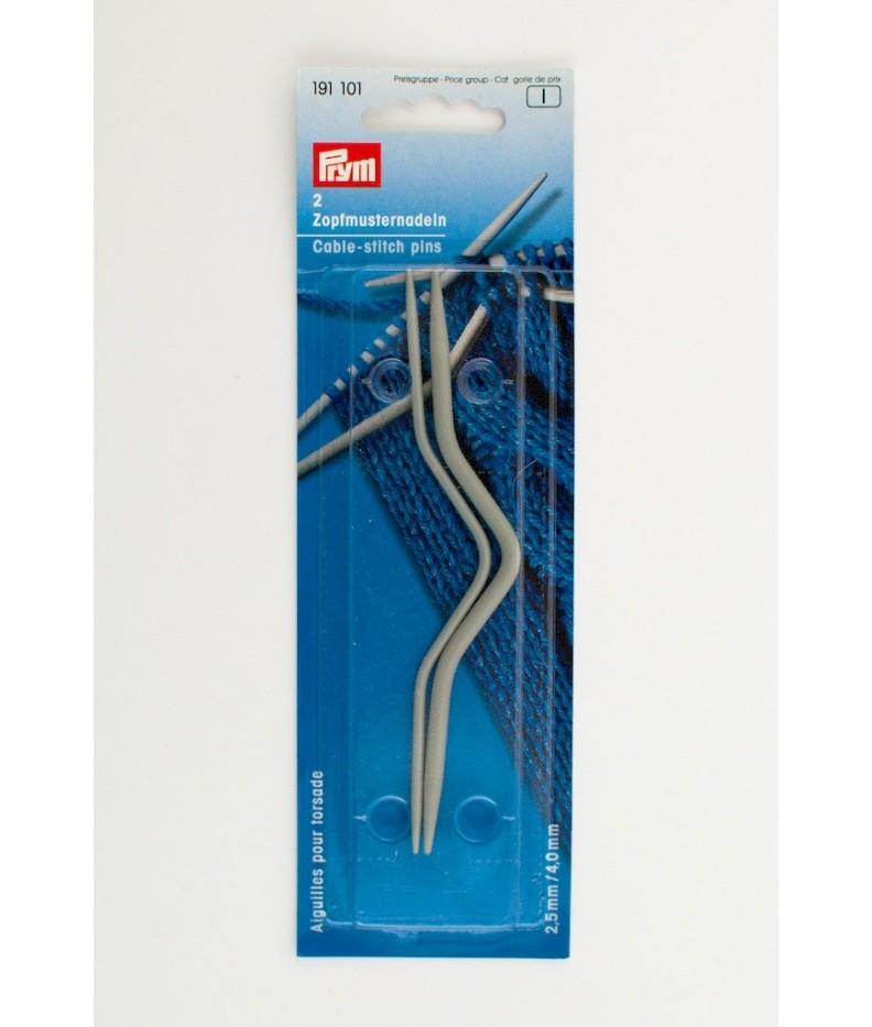 Ferretti curvi per trecce 2.5 / 4 mm