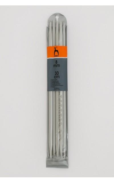 Strumpfstricknadeln 8 mm 30cm