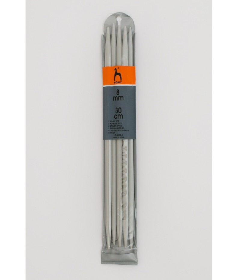 Double - pointed knitting pins US 11 / 30cm