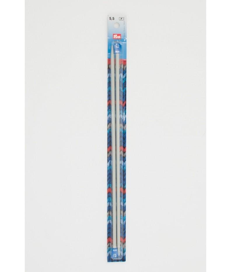 Ferri maglia 5,5 mm lunghezza 35 cm