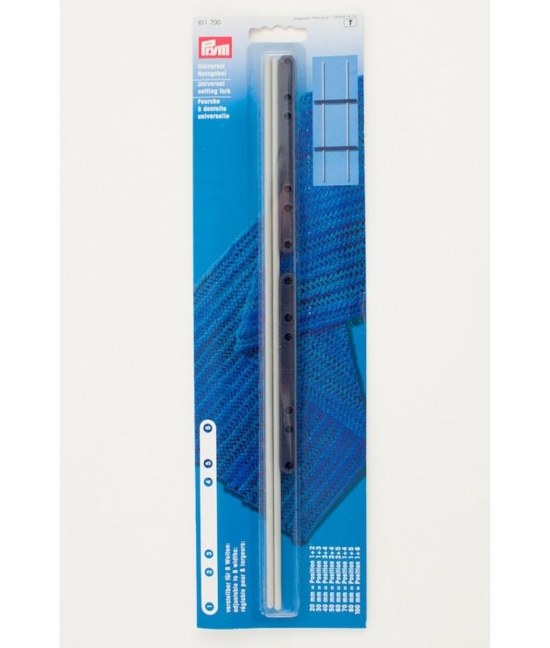 Universal netting fork