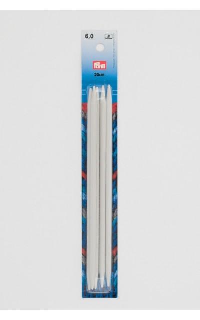 Strumpfstricknadeln 6 mm 20cm