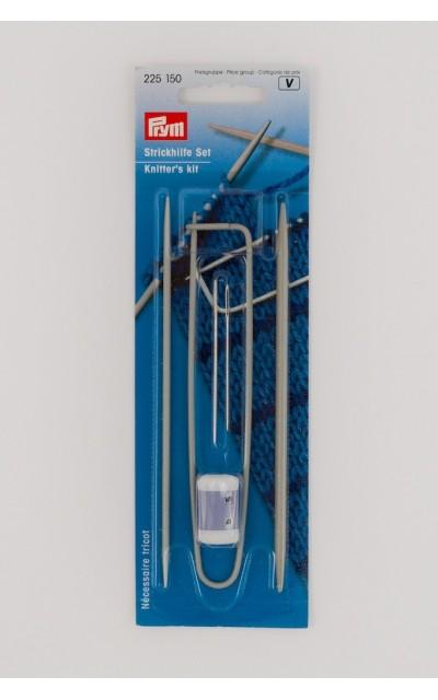 Kit  per lavoro a maglia Prym