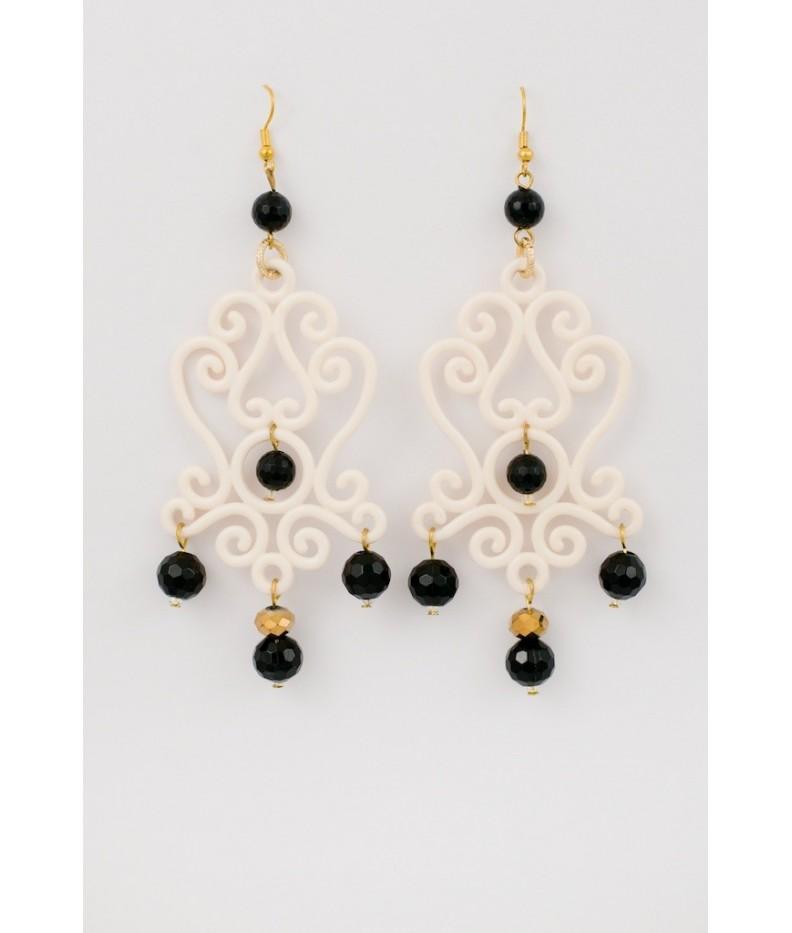 Doodle earrings