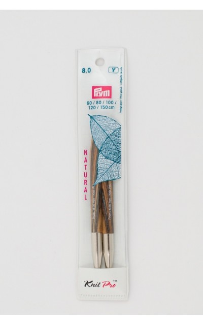 Natural knitting pin points set US 11