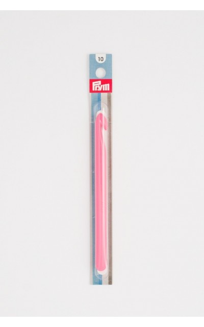 Crochet hook US N/15 in colored plastic