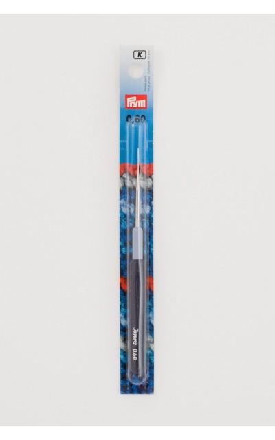 Uncinetto Prym 0.60mm per cotone manico in plastica