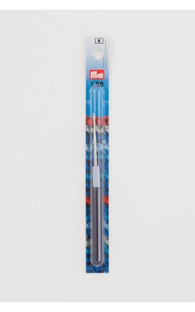 Häkelnadel Prym 1.50mm für Baumwolle mit Griff aus Kunststoff