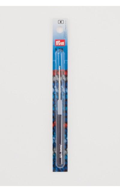 Häkelnadel Prym 1,75mm für Baumwolle mit Griff aus Kunststoff