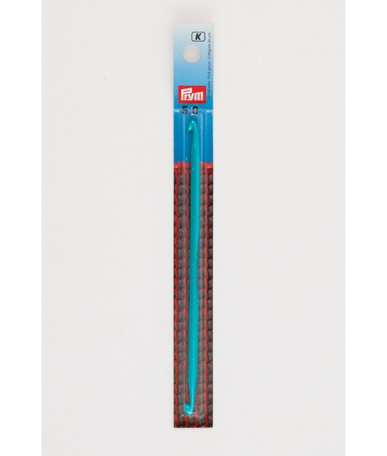 5mm /15cm Tunesische Häkelnadel, doppelte Spitze