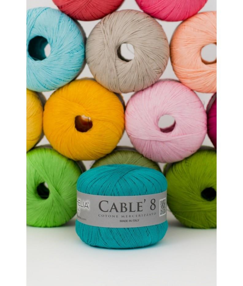 Cablè 8 cotton mercerized