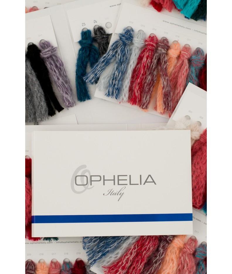 Color chart soffice arm knit