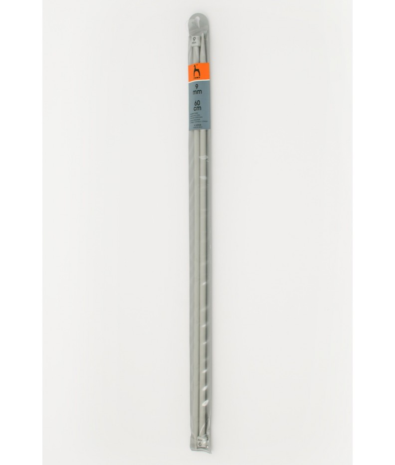Single-pointed knitting pins US 13 / 60cm