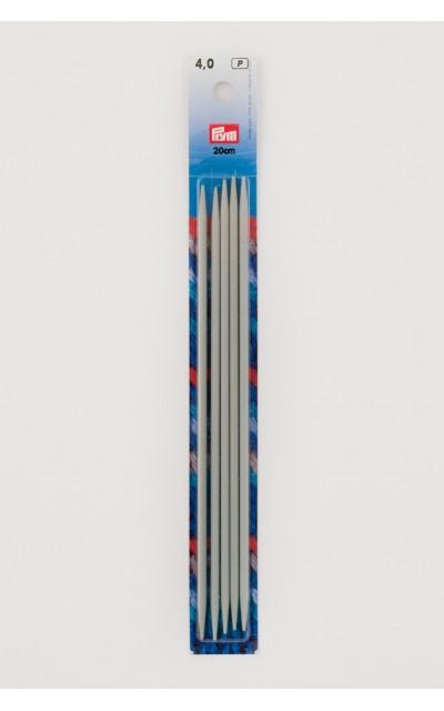 Gioco ferri doppia punta alluminio 4 mm 20 cm