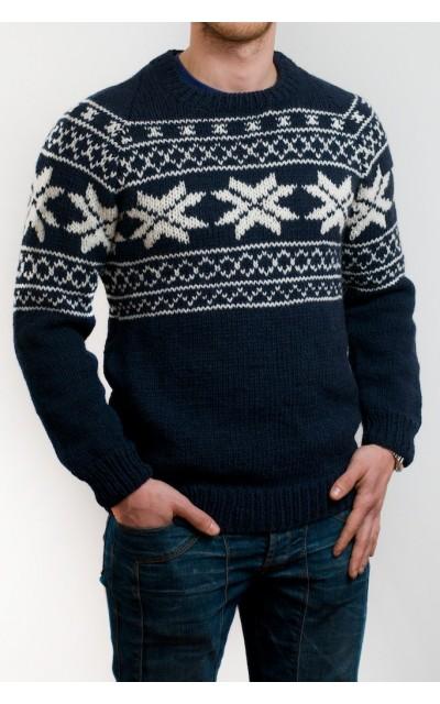 Pull uomo stile norvegiese
