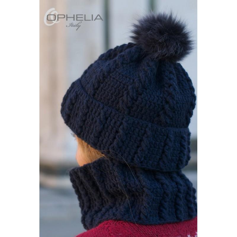 Cappelli Di Lana Ai Ferri Per Bambini 44614c0150cf