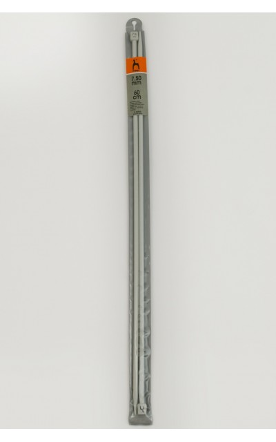 Single-pointed knitting pins US 11 / 60cm