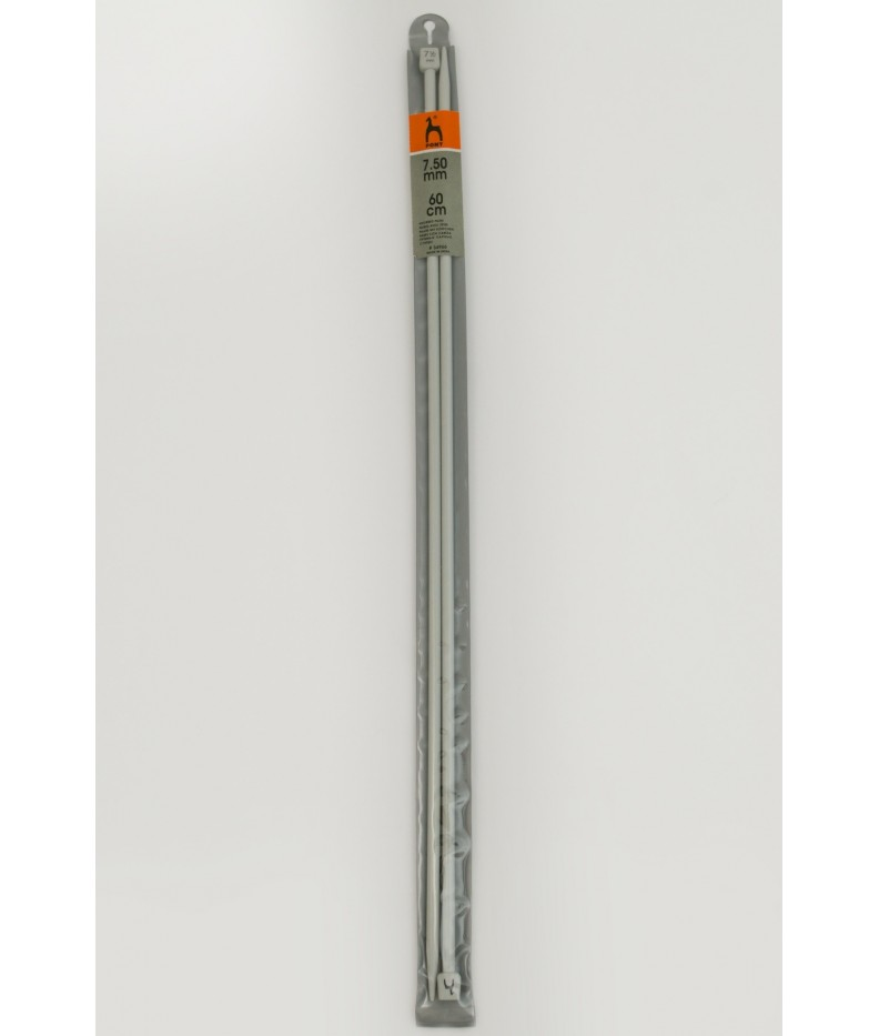 Single-pointed knitting pins US 10,5 / 60cm