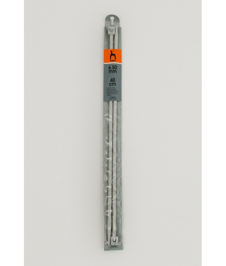 Single-pointed knitting pins US 10,5