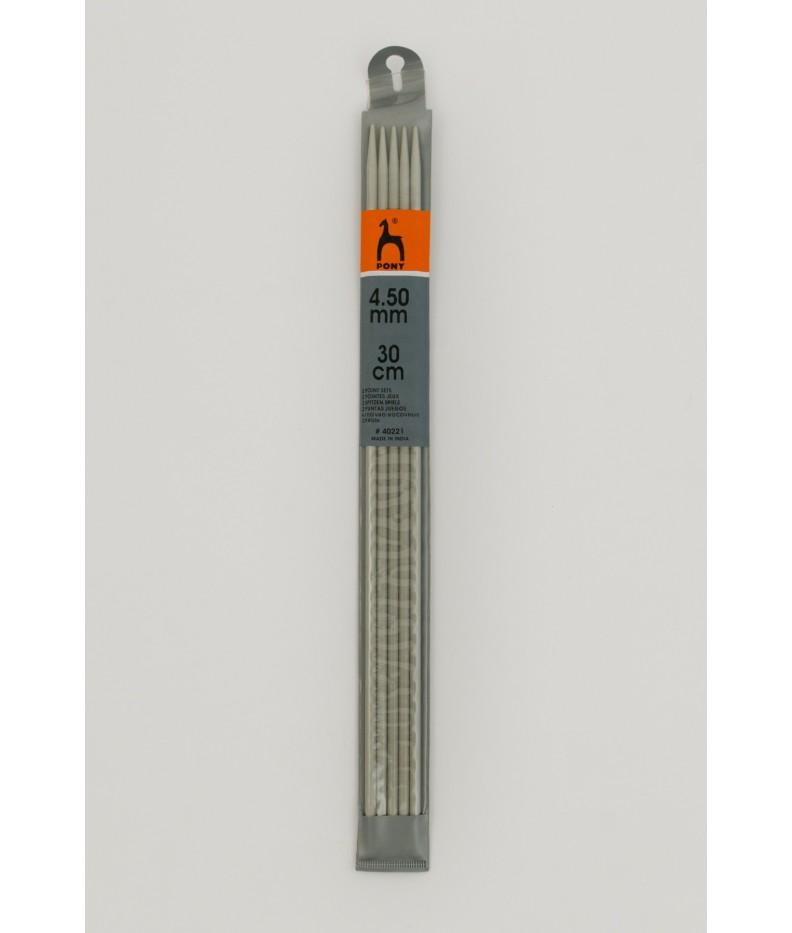 Strumpfstricknadeln 6 mm 30cm
