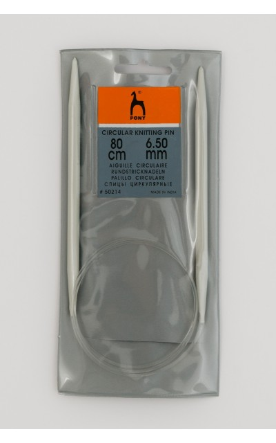 Pony Rundstricknadel  6,5 mm 80cm