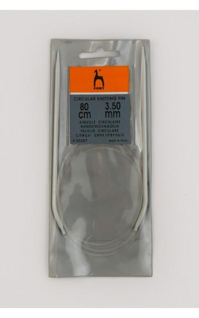 Pony Rundstricknadel  3,5mm 80 cm