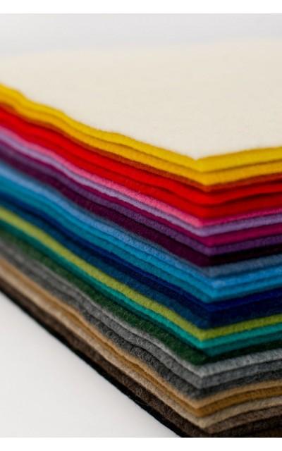Filz Polyester effekt velour 2mm 20x30