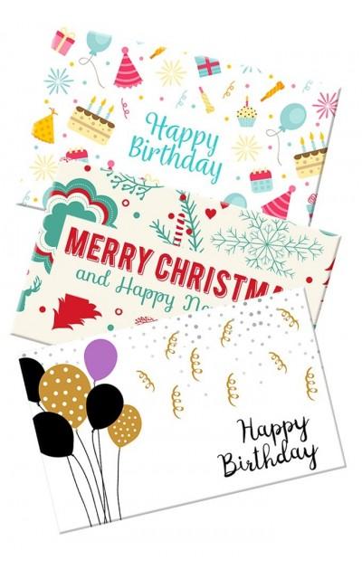 Geschenkkarten 30