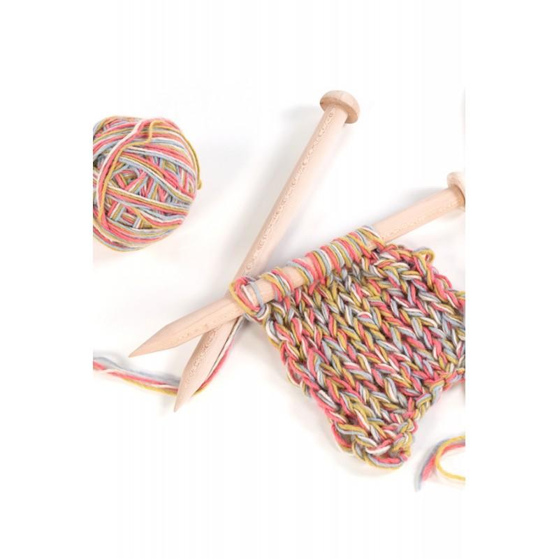 Knitting Needle Sizes 35mm : Giant knitting needles in wood mm ophelia italy