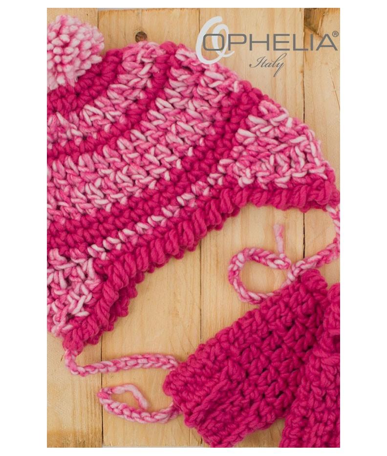 Cappello PonPon con manicotti - Ophelia Italy 4d68057062a4