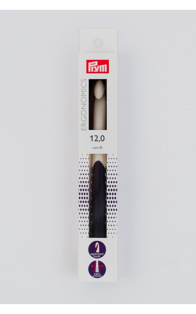 Wollhäkelnadel Prym Ergonomics 12 mm