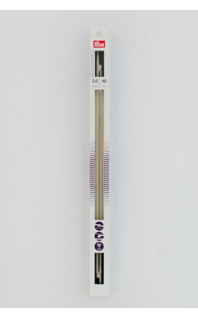 Ergonomic knitting needles  5 mm 40 cm