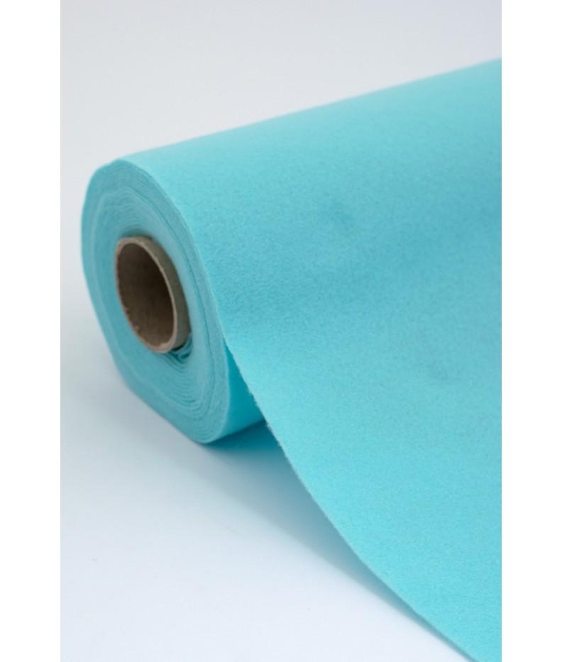 Tuch filz stoff 015 himmelblau