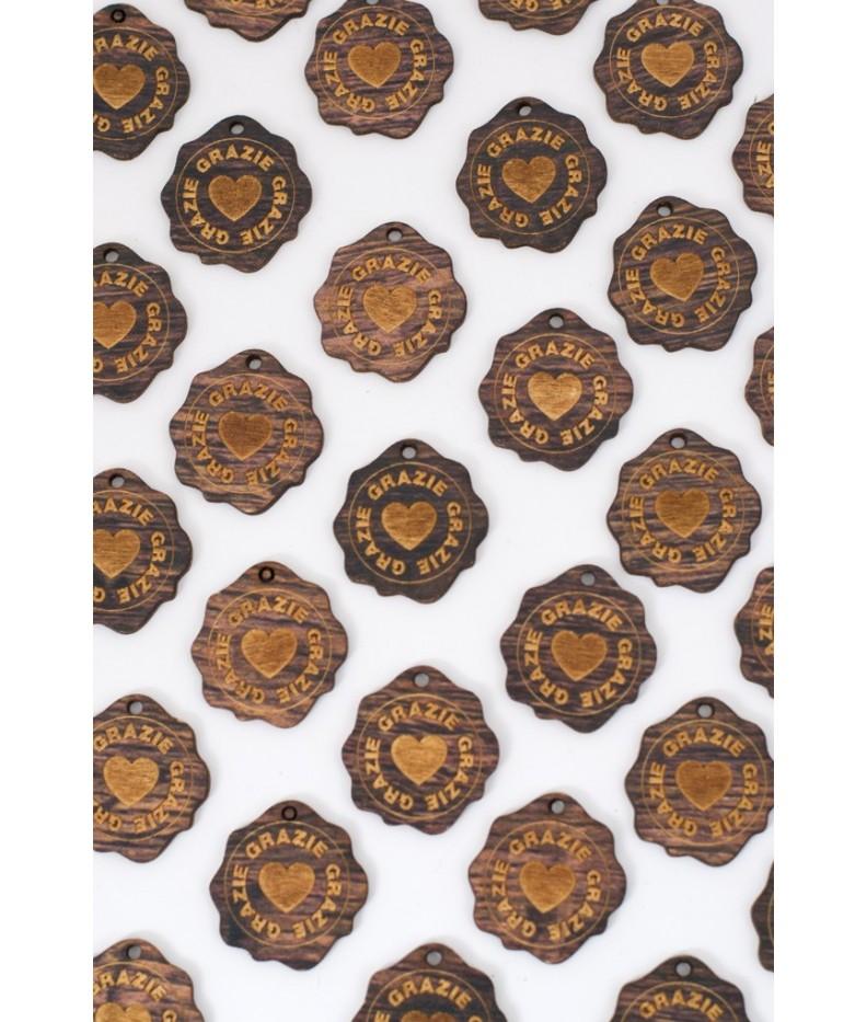 Targhetta Handmade in Legno