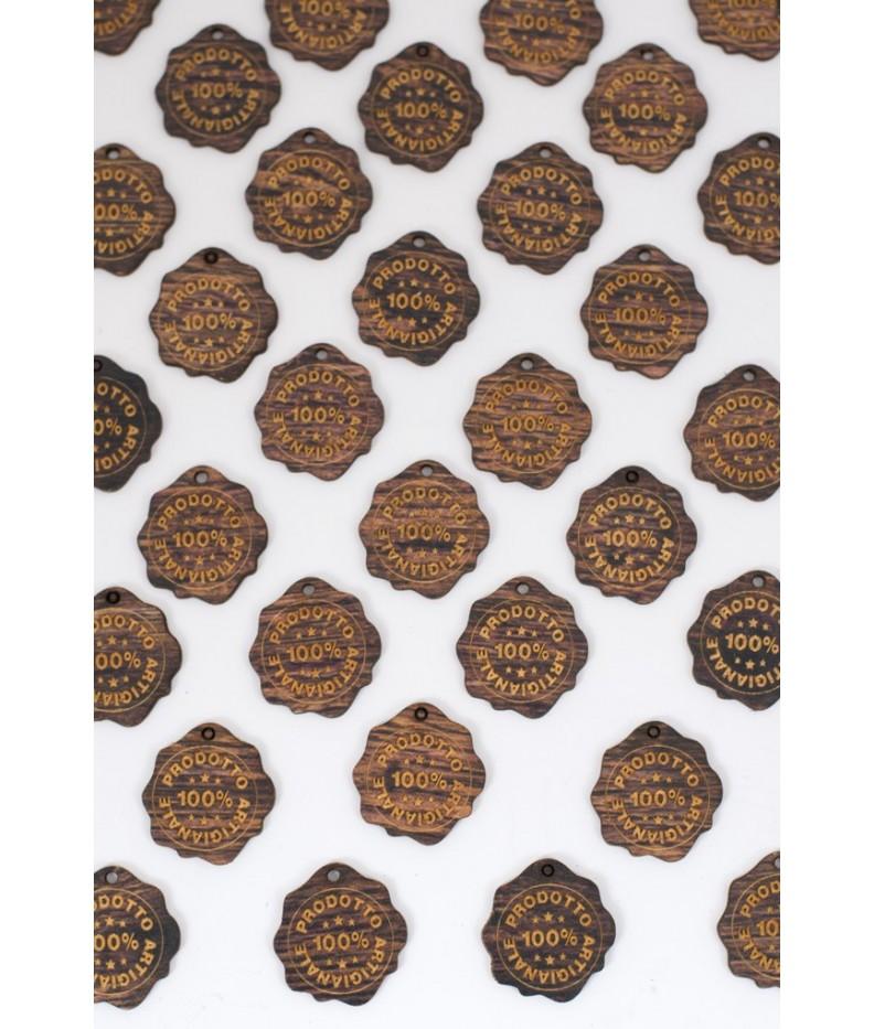 Label wood - 100% ARTIGIANALE