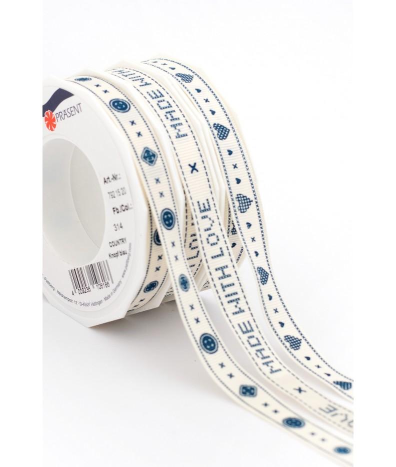 "Ribbon Kits ""Country"" Blue, 15mm"