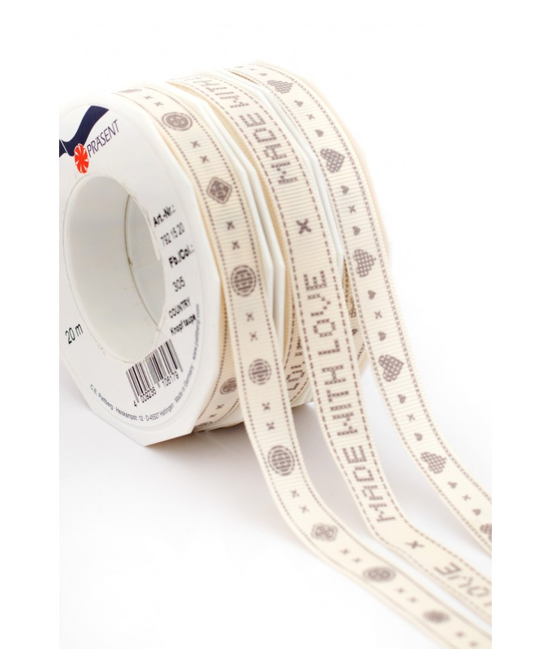 "Ribbon Kits ""Country"" Taupe, 15mm"