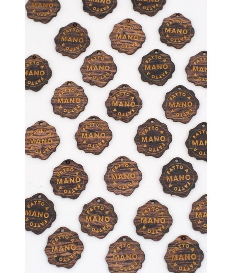 Label wood -GRAZIE