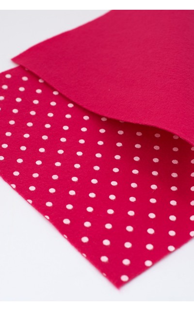 Cloth felt Polka 45x50cm