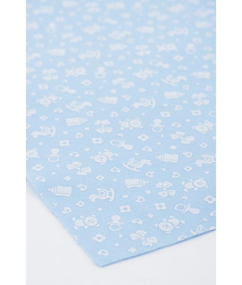 Cloth felt Birth 45x50cm