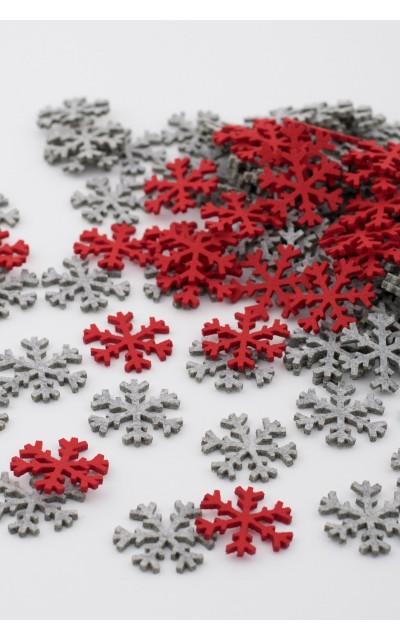 Fiocco di Neve 2 colori