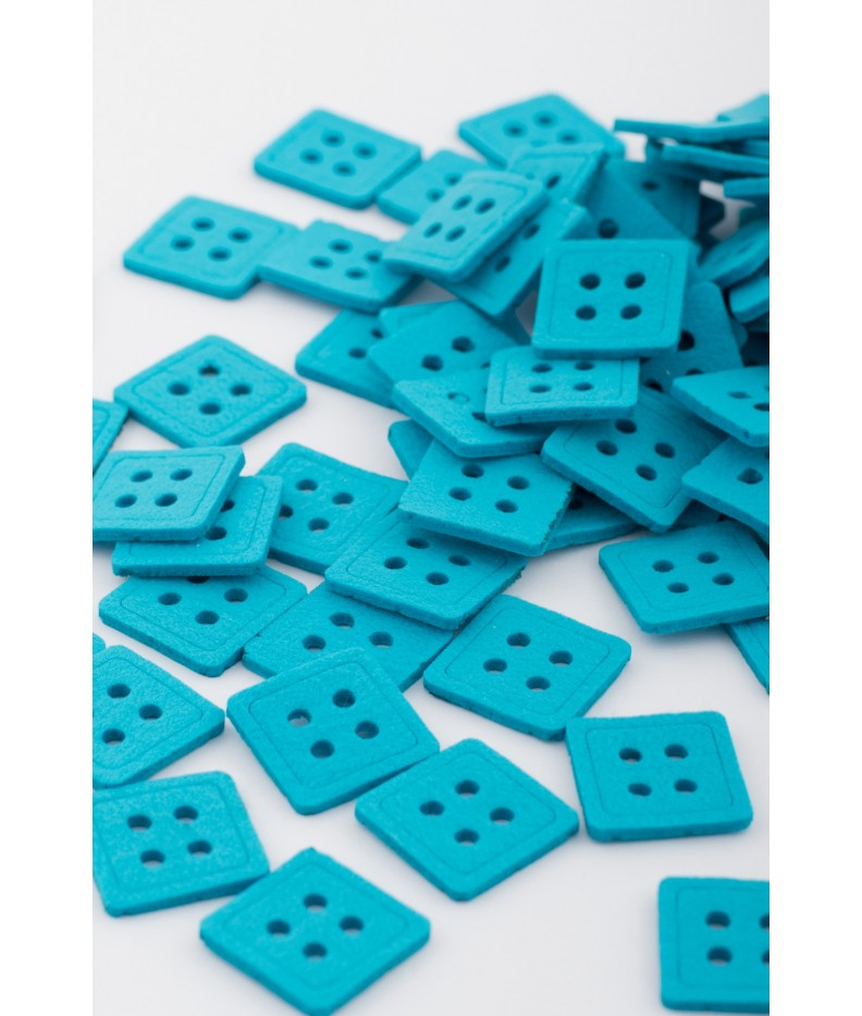 Bottone quadrato 30 pezzi